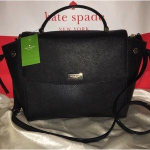 NWT Kate Spade Black Lauren Way Bag